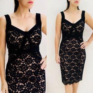 Michael Kors Collection black lace Sheath Dress 6